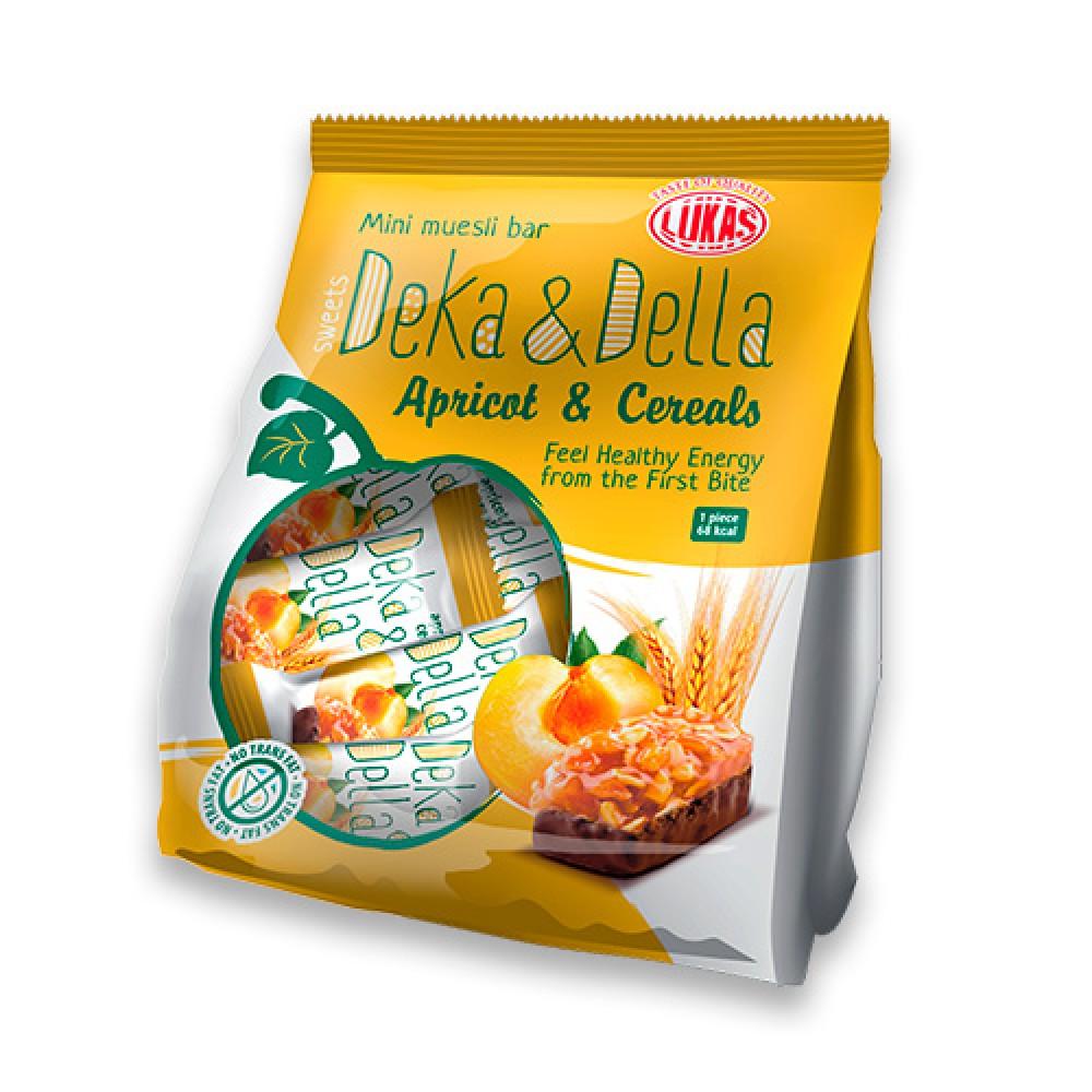 Цукерки «Deka & Della курага та злаки»