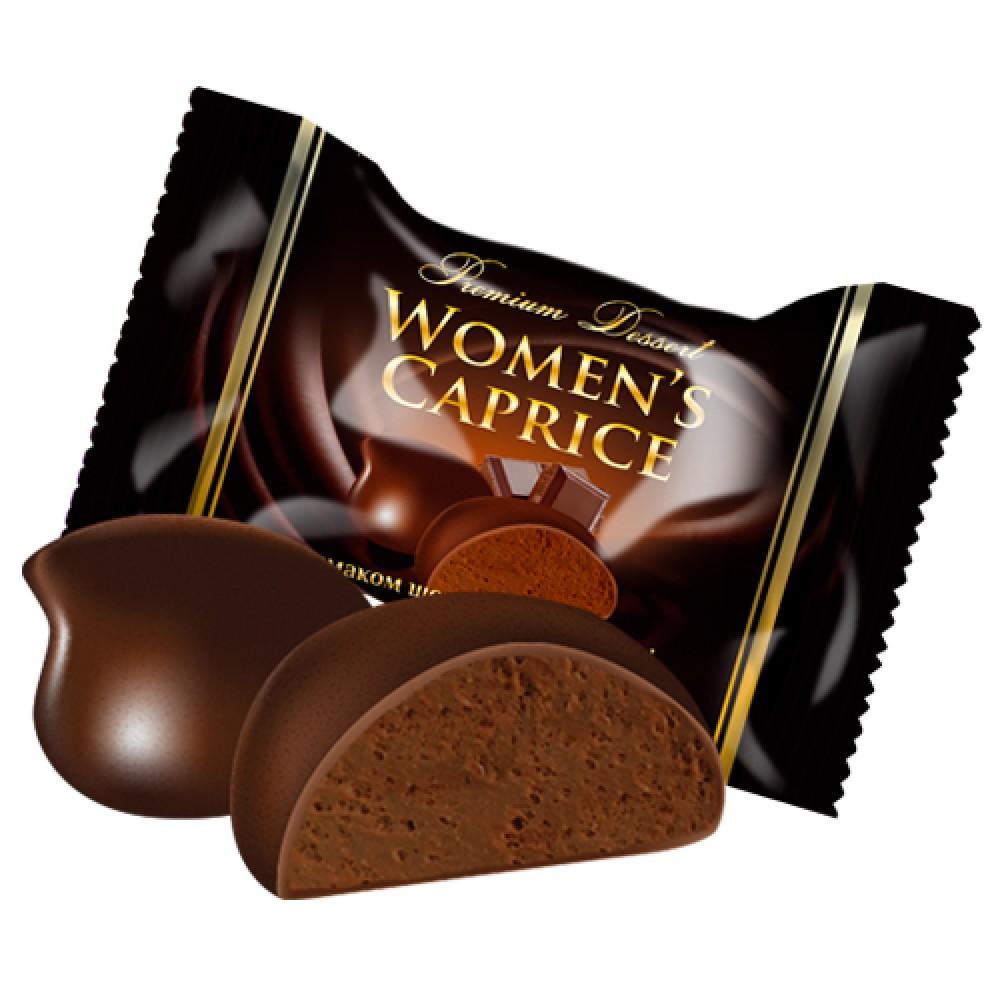 Цукерки «Lukasia Women's caprice зі смаком шоколадного брауні»