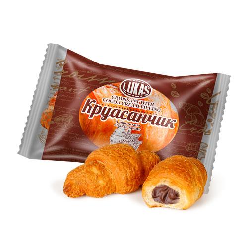 Круасанчик з начинкою «какао-крем»