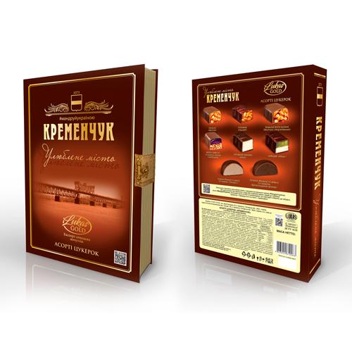 Асорті цукерок «Кременчук. Улюблене місто»