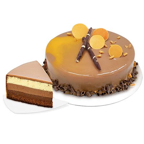 Торт «Три шоколада апельсин»